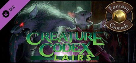 Fantasy Grounds - Creature Codex Lairs (5E)