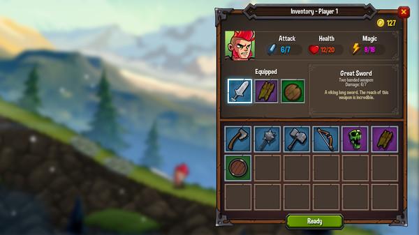 скриншот Unsung Warriors - Prologue 4