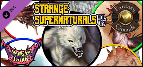 Fantasy Grounds - Strange Supernaturals, Volume 9 (Token Pack)