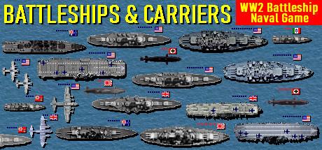 Battleships and Carriers - WW2 Battleship Game trên Steam