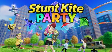Game Banner Stunt Kite Party