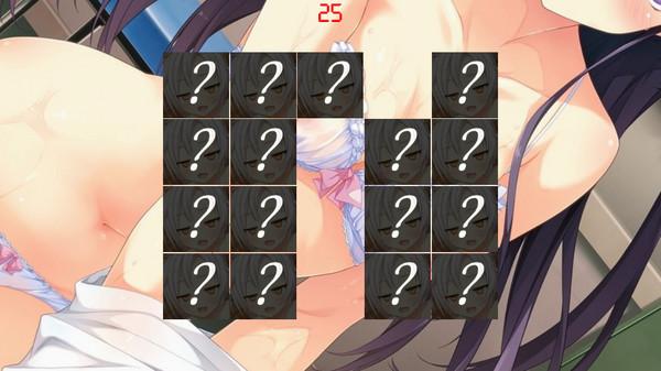 Ecchi memory game