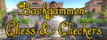 Backgammon, Chess & Checkers-game
