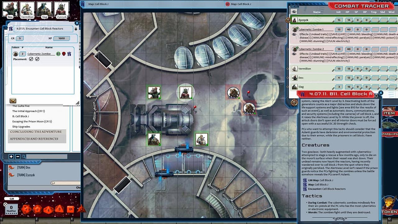 Fantasy Grounds - Starfinder RPG - Against the Aeon Throne AP 2: Escape  from the Prison Moon (SFRPG)
