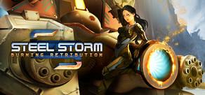 Steel Storm: Burning Retribution cover art