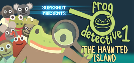 Teaser image for The Haunted Island, a Frog Detective Game
