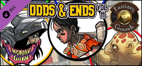 Fantasy Grounds - Odds and Ends, Volume 11 (Token Pack)