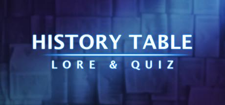 History Table: Lore & Quiz