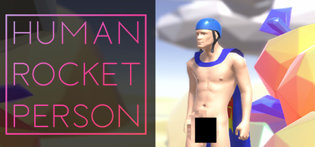 Human Rocket Person