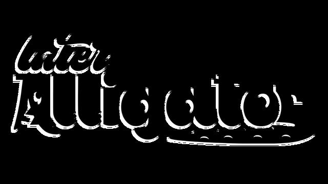 Later Alligator logo