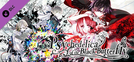 Psychedelica of the Black butterfly DLC - Artbook, OST, Wallpaper