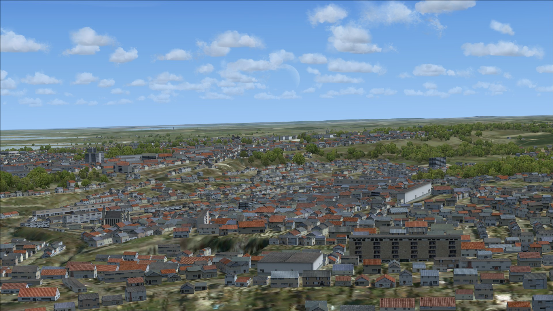 FSX Steam Edition: VFR Real Scenery NexGen 3D - Vol  1: Southern