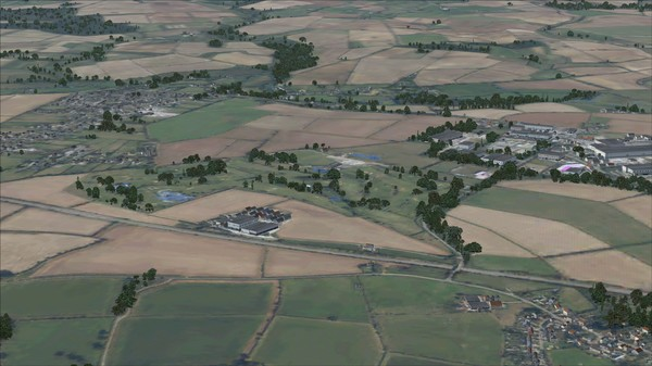 FSX Steam Edition: VFR Real Scenery NexGen 3D - Vol. 2: Central England and North Wales Add-On (DLC)