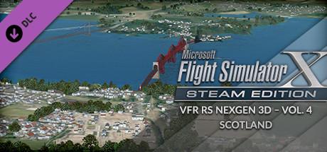 Купить FSX Steam Edition: VFR Real Scenery NexGen 3D - Vol. 4: Scotland Add-On (DLC)