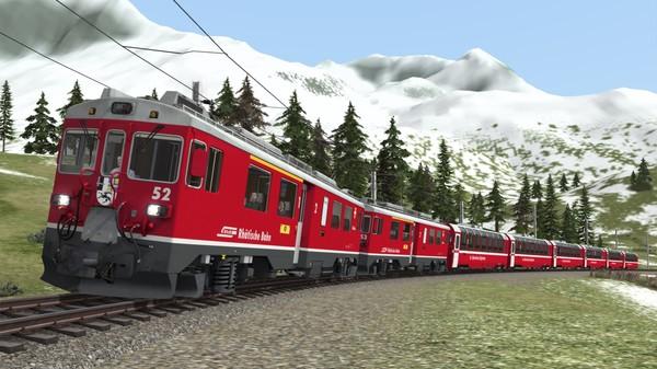 скриншот Train Simulator: RhB Enhancement Pack 03 Add-On 0