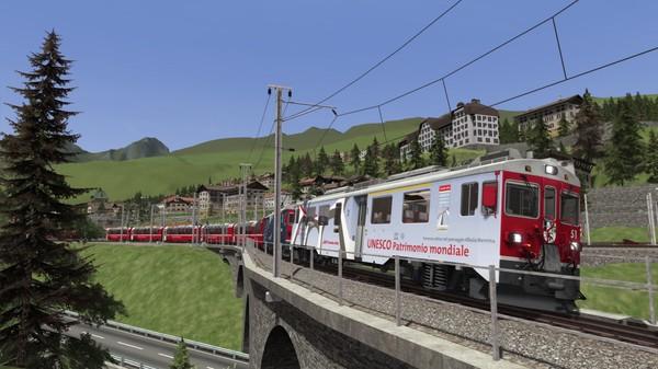 скриншот Train Simulator: RhB Enhancement Pack 03 Add-On 3
