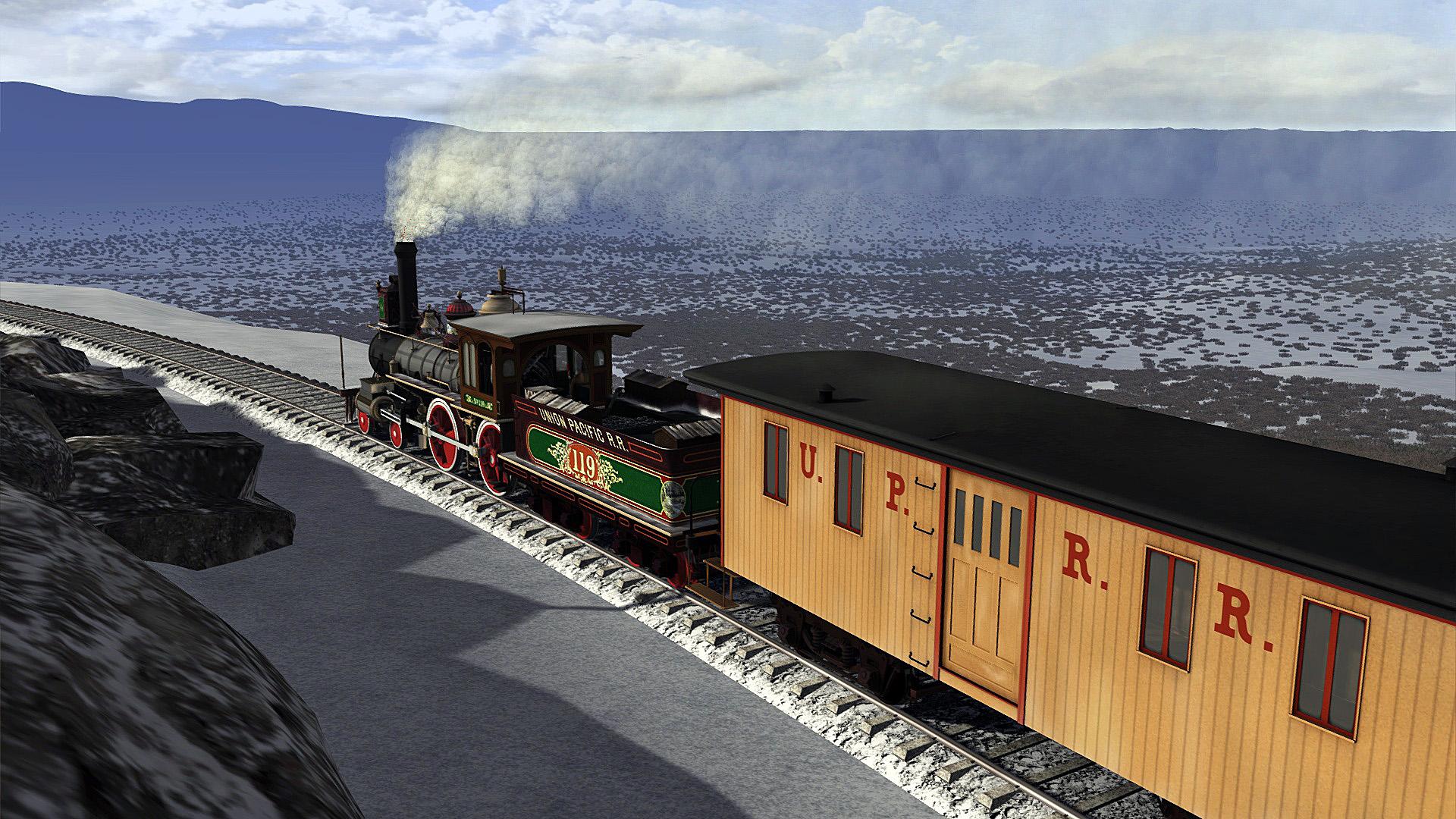 Train Simulator: Promontory Summit Route Add-On