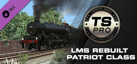 Train Simulator: LMS Rebuilt Patriot Class Steam Loco Add-On