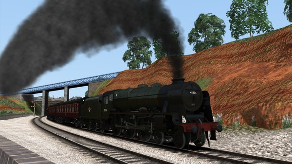 скриншот Train Simulator: LMS Rebuilt Patriot Class Steam Loco Add-On 3