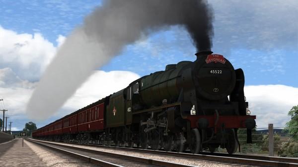 скриншот Train Simulator: LMS Rebuilt Patriot Class Steam Loco Add-On 0