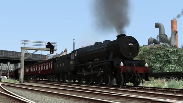 скриншот Train Simulator: LMS Rebuilt Patriot Class Steam Loco Add-On 5
