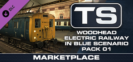 TS Marketplace: Woodhead Electric Railway in Blue Scenario Pack 01
