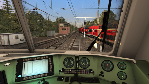 скриншот Train Simulator: Inselbahn: Stralsund – Sassnitz Route Add-On 2