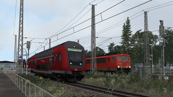 скриншот Train Simulator: Inselbahn: Stralsund – Sassnitz Route Add-On 4