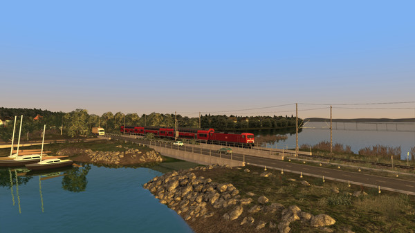 скриншот Train Simulator: Inselbahn: Stralsund – Sassnitz Route Add-On 1