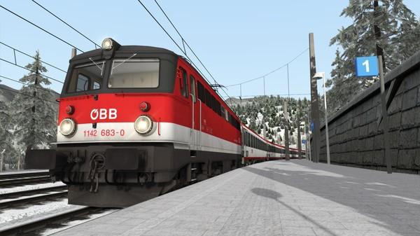 скриншот Train Simulator: ÖBB 1142 Loco Add-On 5