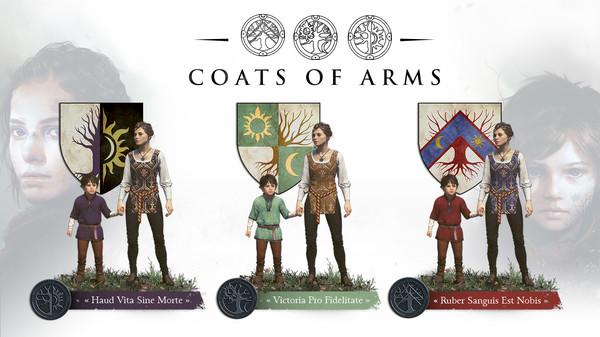 скриншот A Plague Tale: Innocence - Coats of Arms DLC 0