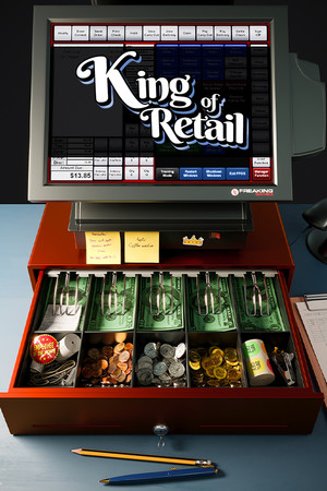 King of Retail poster image on Steam Backlog