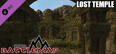 Virtual Battlemap DLC - Lost Temple