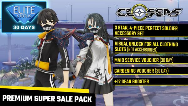 Closers: Premium Super Sale Pack (DLC)