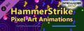 RPG Maker MV - HammerStrike Pixel Art Animations