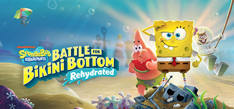 SpongeBob SquarePants Battle for Bikini Bottom  Rehydrated [PT-BR] Capa