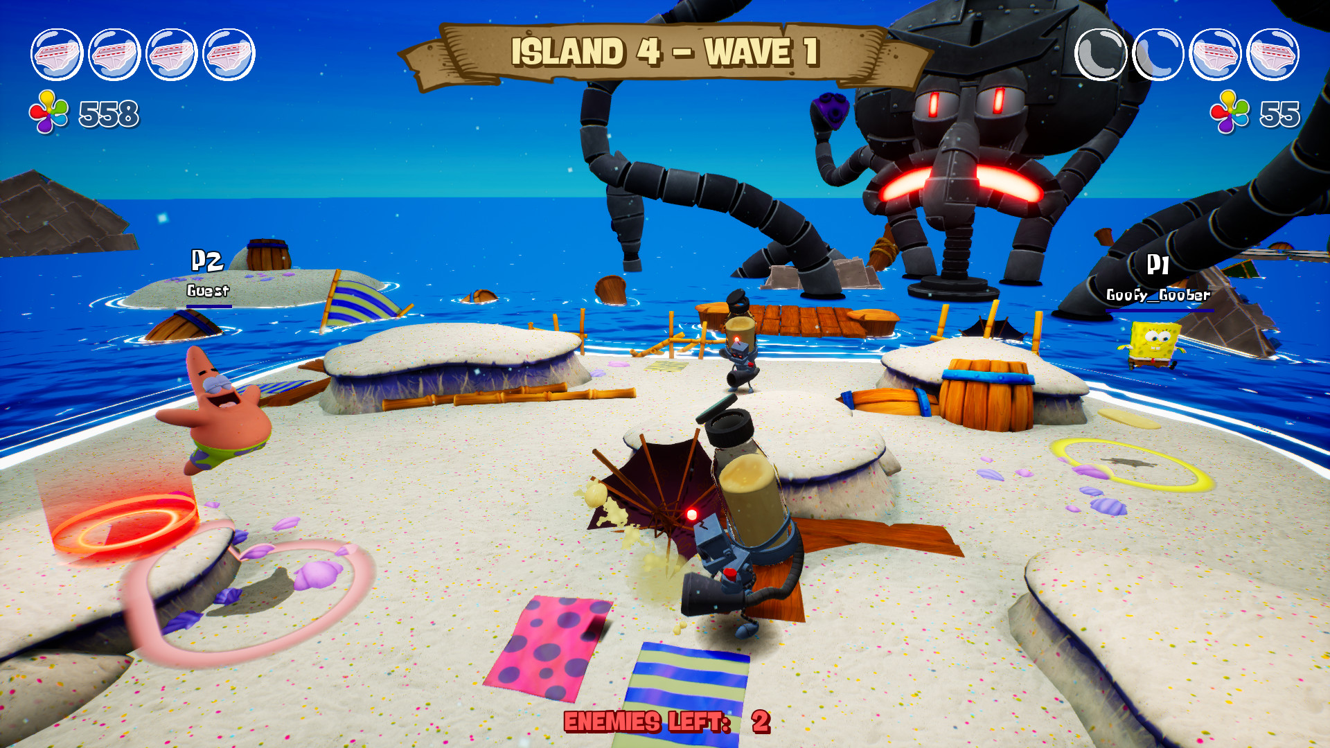 SpongeBob SquarePants: Battle for Bikini Bottom - Rehydrated Resimleri