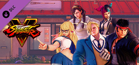 Street Fighter V - School Costumes Bundle