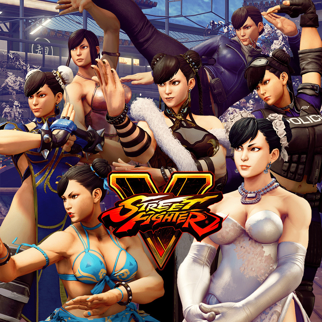 chun li street fighter 5 all costumes