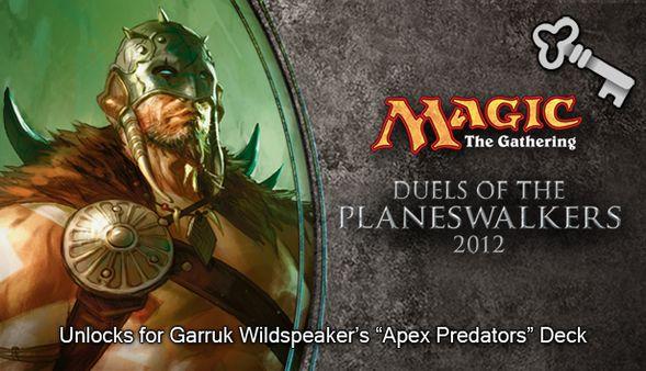 """Magic 2012 Full Deck """"Apex Predators"""" (DLC)"""