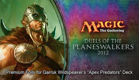 "Magic 2012 Foil Conversion ""Apex Predators""  (DLC)"