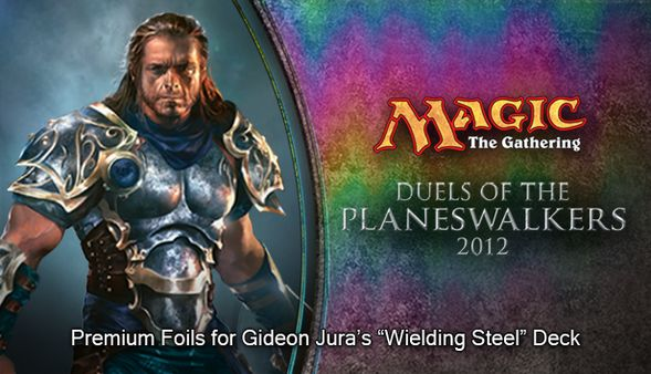 "Magic 2012 Foil Conversion ""Wielding Steel""  (DLC)"