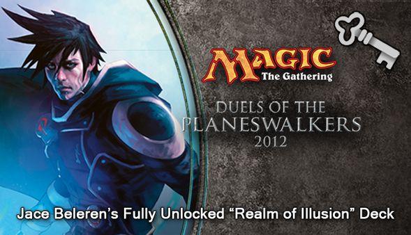 """Magic 2012 Full Deck """"Realm of Illusion""""  (DLC)"""