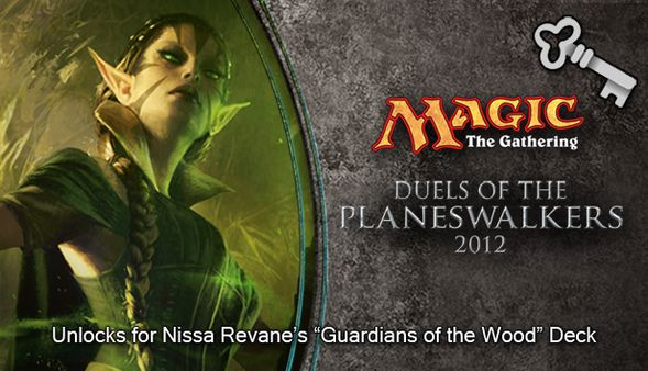 "Magic 2012 Full Deck ""Guardians of the Wood""  (DLC)"