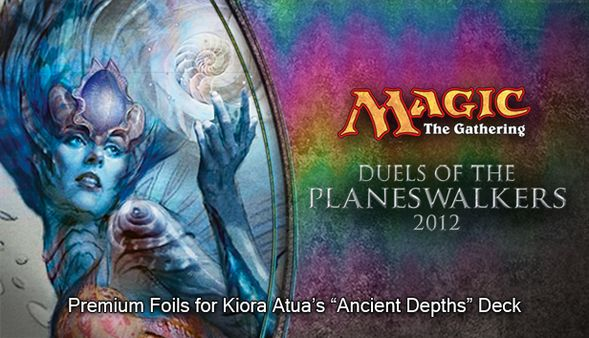 "Magic 2012 Foil Conversion ""Ancient Depths""  (DLC)"