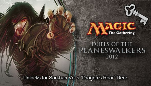 "Magic 2012 Full Deck ""Dragon's Roar""  (DLC)"