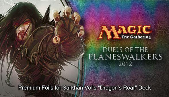 "Magic 2012 Foil Conversion ""Dragon's Roar""  (DLC)"