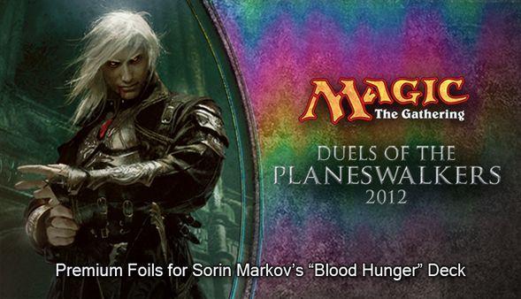 """Magic 2012 Foil Conversion """"Blood Hunger""""  (DLC)"""
