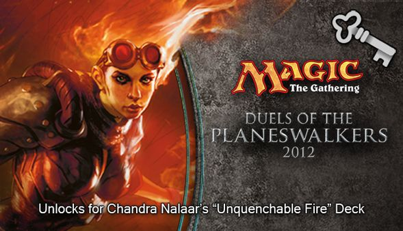"Magic 2012 Full Deck ""Unquenchable Fire"" (DLC)"