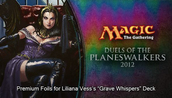 "Magic 2012 Foil Conversion ""Grave Whispers"" (DLC)"